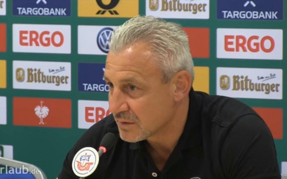 Павел Дочев: Бяхме много ефективни, не може да биеш Щутгарт с късмет