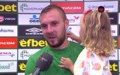 Моци за искрите след мача: Мислех, че се радвам пред феновете на Лудогорец