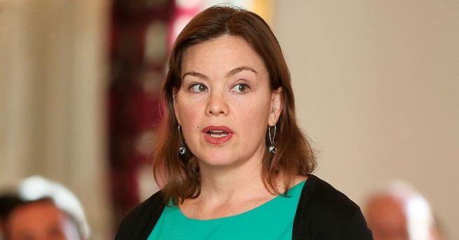 Новозеландската министърка по въпросите на жените Джули Ан Джентър от