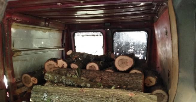Строителна дървесина в размер на 68 плътни куб. м и