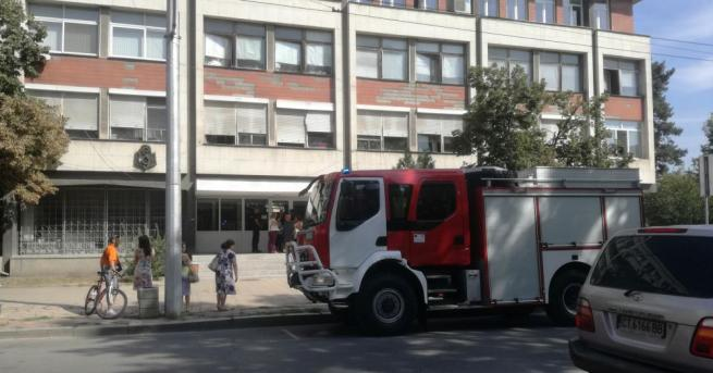 Заради мирис на газ в централната градска част на Казанлък,