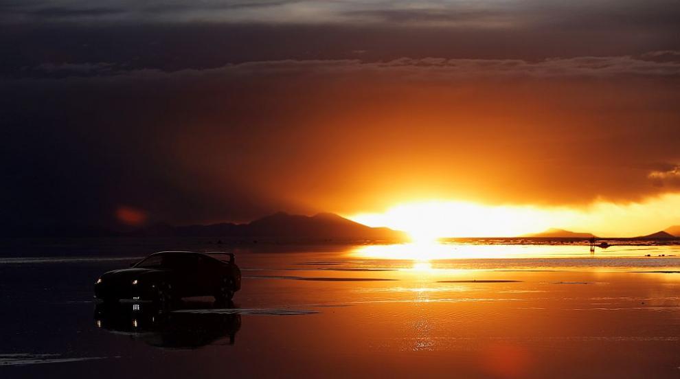 Най-голямото огледало в света, където Раят слиза на Земята (СНИМКИ)