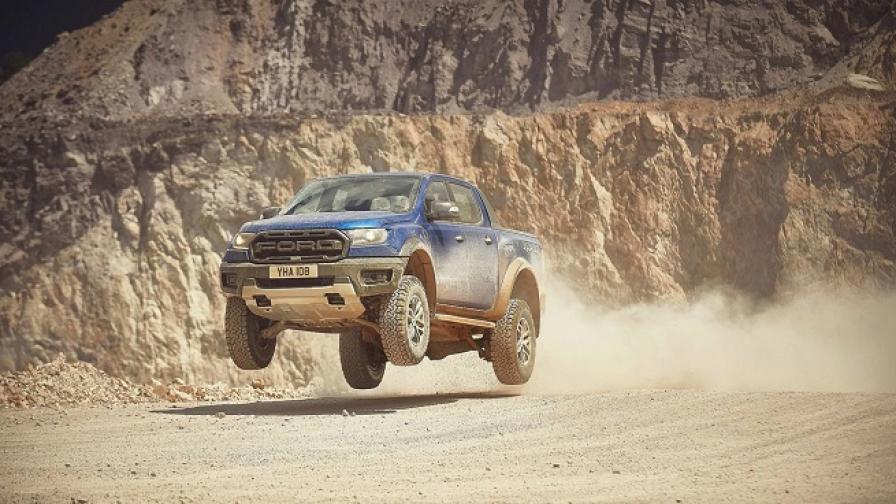"""Дизел с 210 к.с. и 10-степенен """"автомат"""" за европейския Ford Ranger Raptor"""
