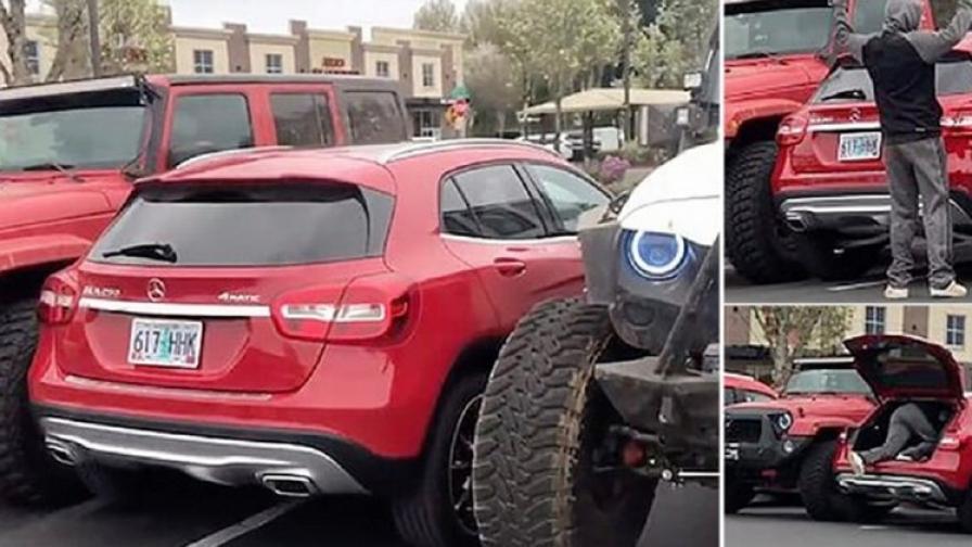 Какво става като не паркираш правилно  (снимки)