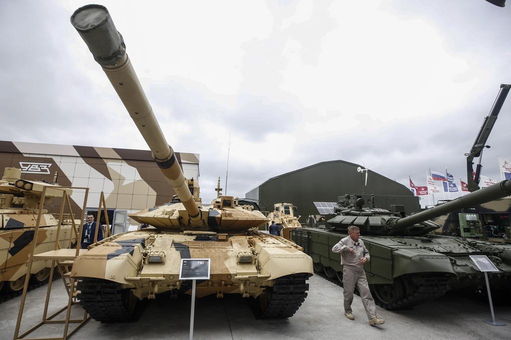 Танкове Т-72 и T-90 MC