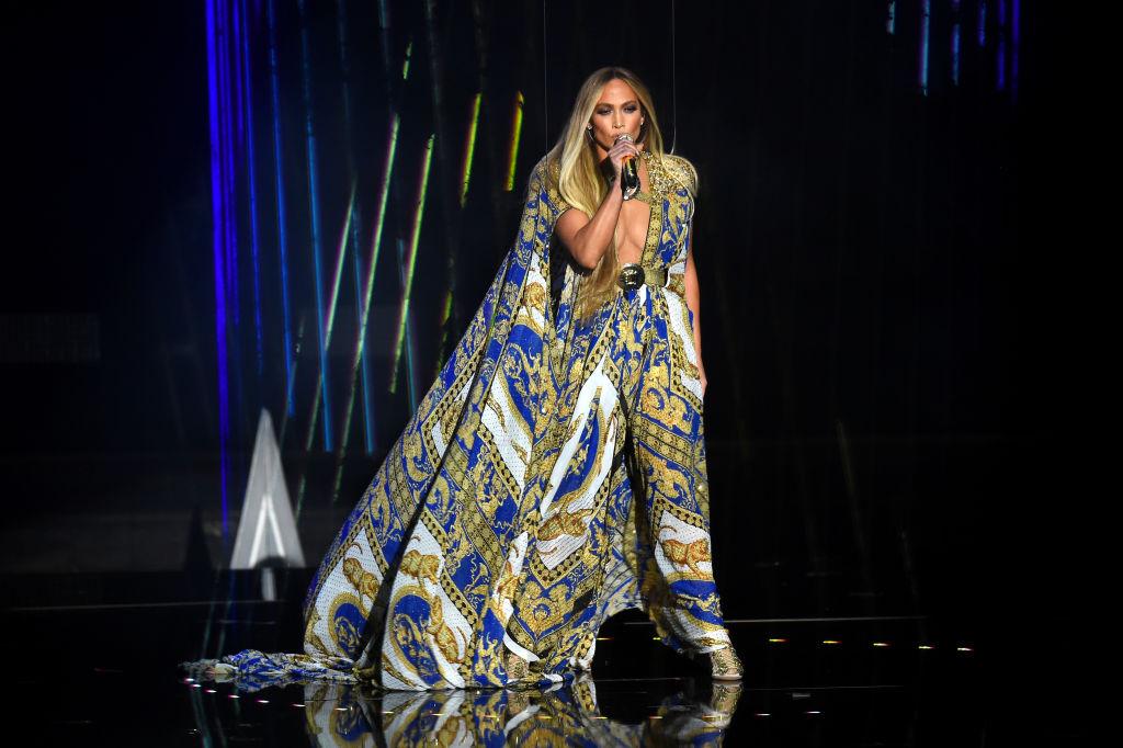 Дженифър Лопес на видеонаградите на MTV