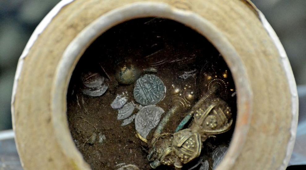 Съкровище от 14-и в. откриха археолози в крепостта Калиакра