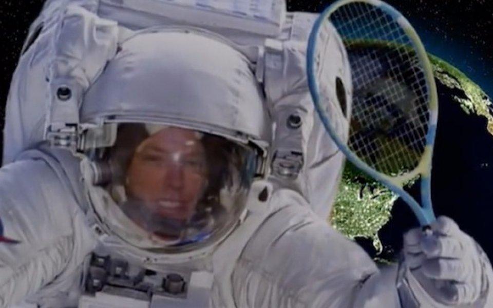 За първи път в историята - тенис в космоса