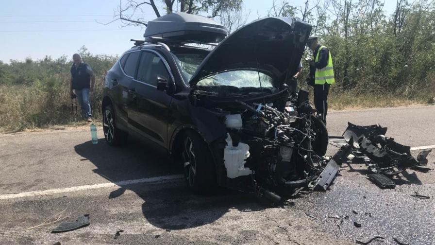 Двама загинали и две верижни катастрофи на пътя днес