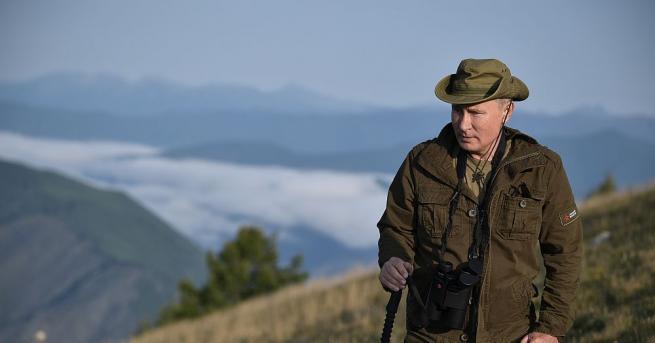 Президентът на Русия Владимир Путин, шефът на