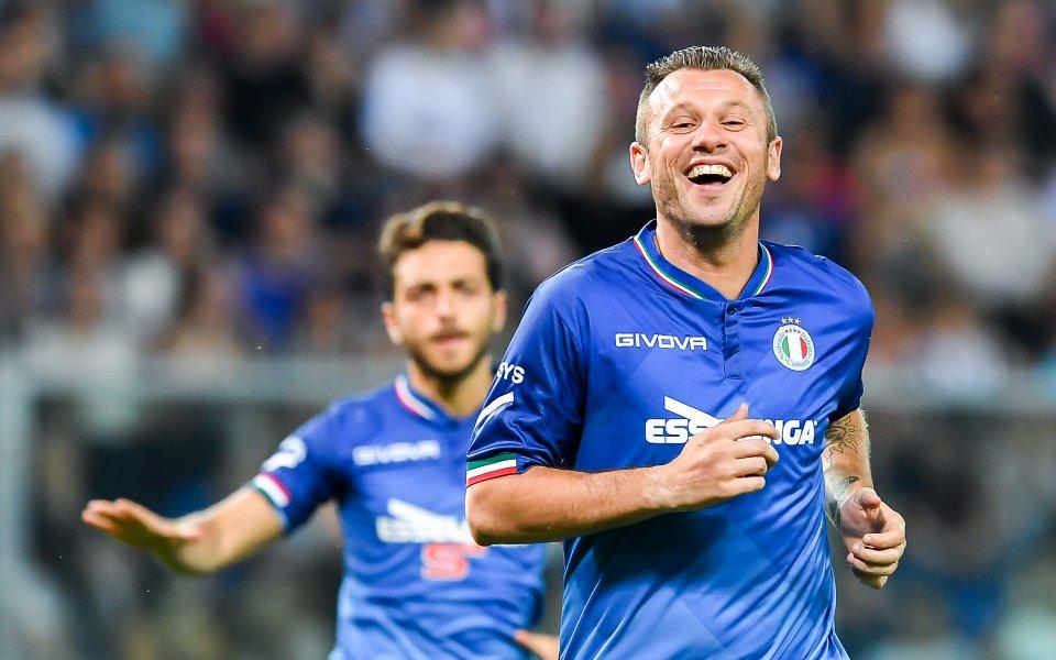 Лошото момче на италианския футбол Антонио Касано сподели, че постоянството