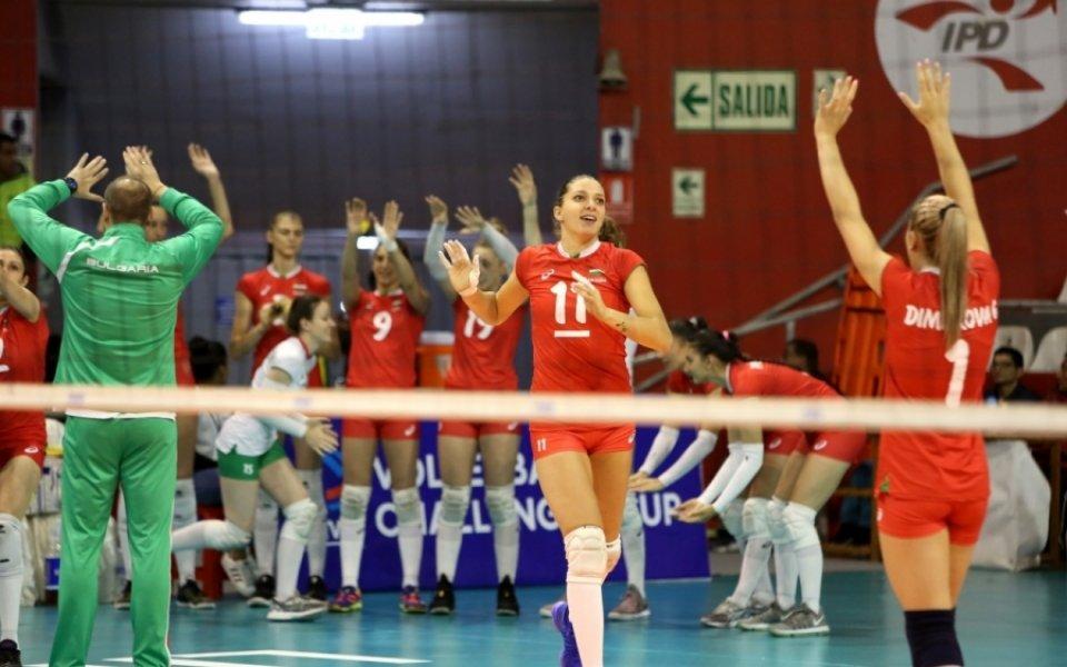Волейболистките с победа над Германия преди Световното