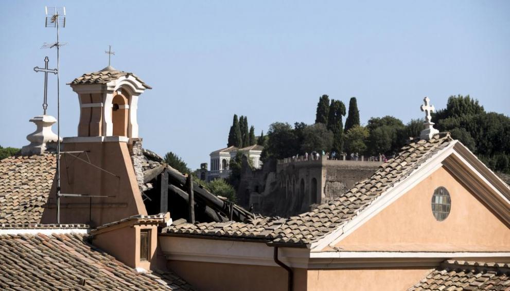 Рим Италия таван църква