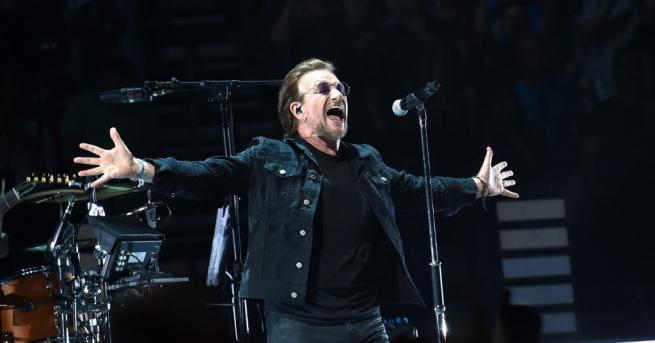 Фронтменът на ирландската група U2 Боно каза, че ще си