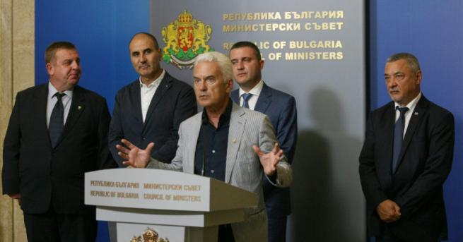 Четири часа продължи коалиционни съвет в Министерския съвет. До него