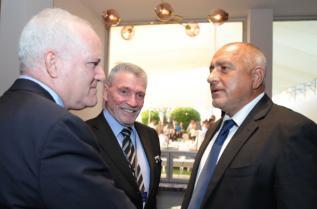 Министър-председателят Бойко Борисов се срещна с президента на Интердисциплинарния институт в Херцелия проф. Уриел Райхман, основателя и изпълнителен директор на Международния институт по контра-тероризъм проф. Боаз Ганор и с бившия директор на МОСАД Шабтай Шавит.