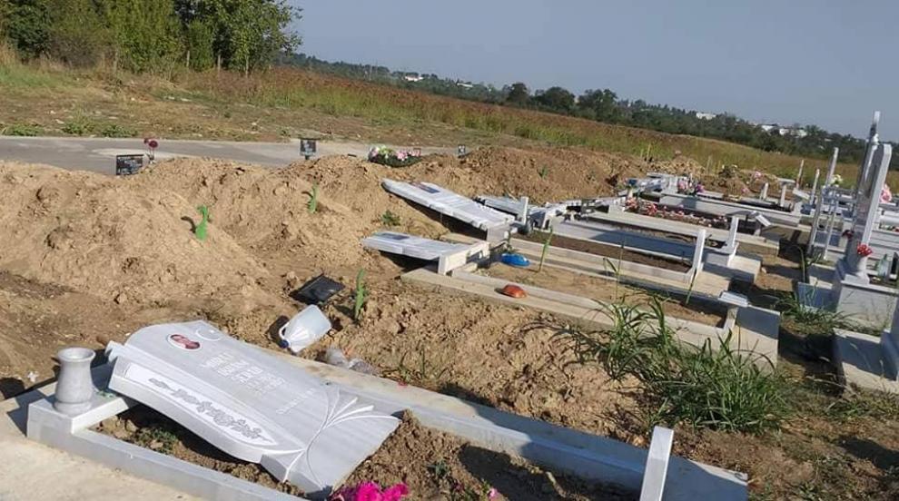 Психично болен поругал паметниците в турското гробище в Добрич