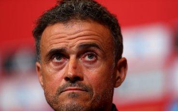 Луис Енрике се връща начело на Испания след трагедията си