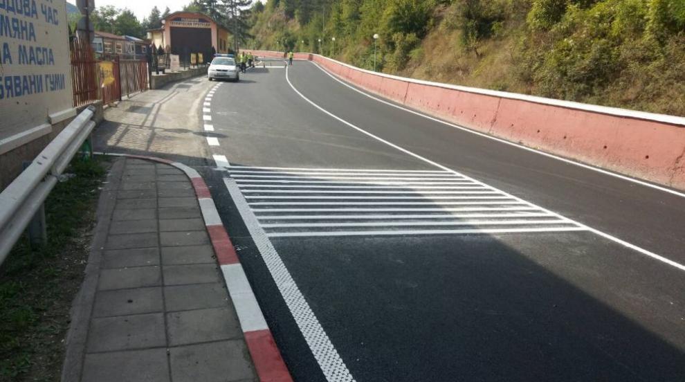 МВР: Повече катастрофи след, отколкото преди ремонта на пътя през Своге