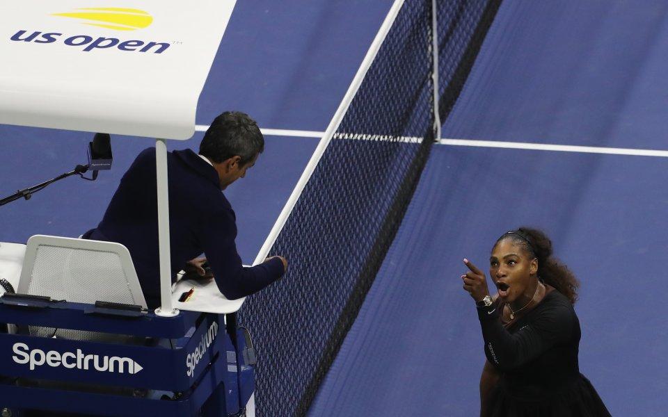 WTA подкрепи Серина: В тениса има полова дискриминация