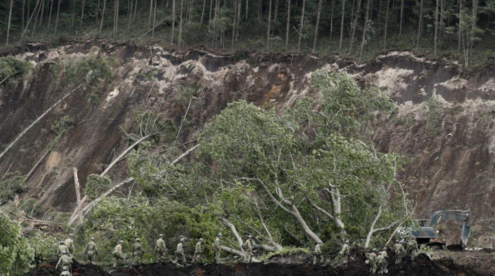 Расте броят на жертвите на земетресението на о-в Хокайдо