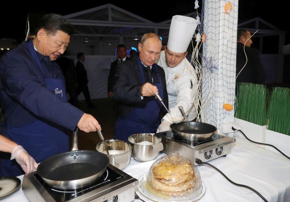 Владимир Путин и Си Цзинпин