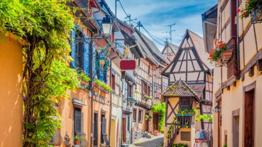 Едни от най-чаровните малки френски градчета