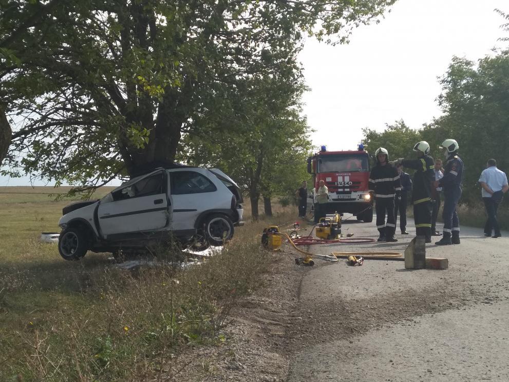 Инцидентът е станал на пътя от село Избул в посока към село Върбяне