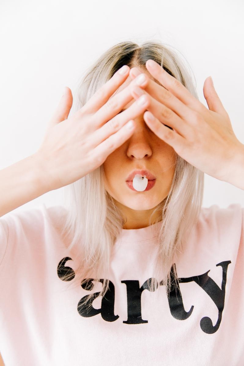 Изпитано: когато сте гневни, започнете да дъвеете дъвка. Това помага да намалите стреса.