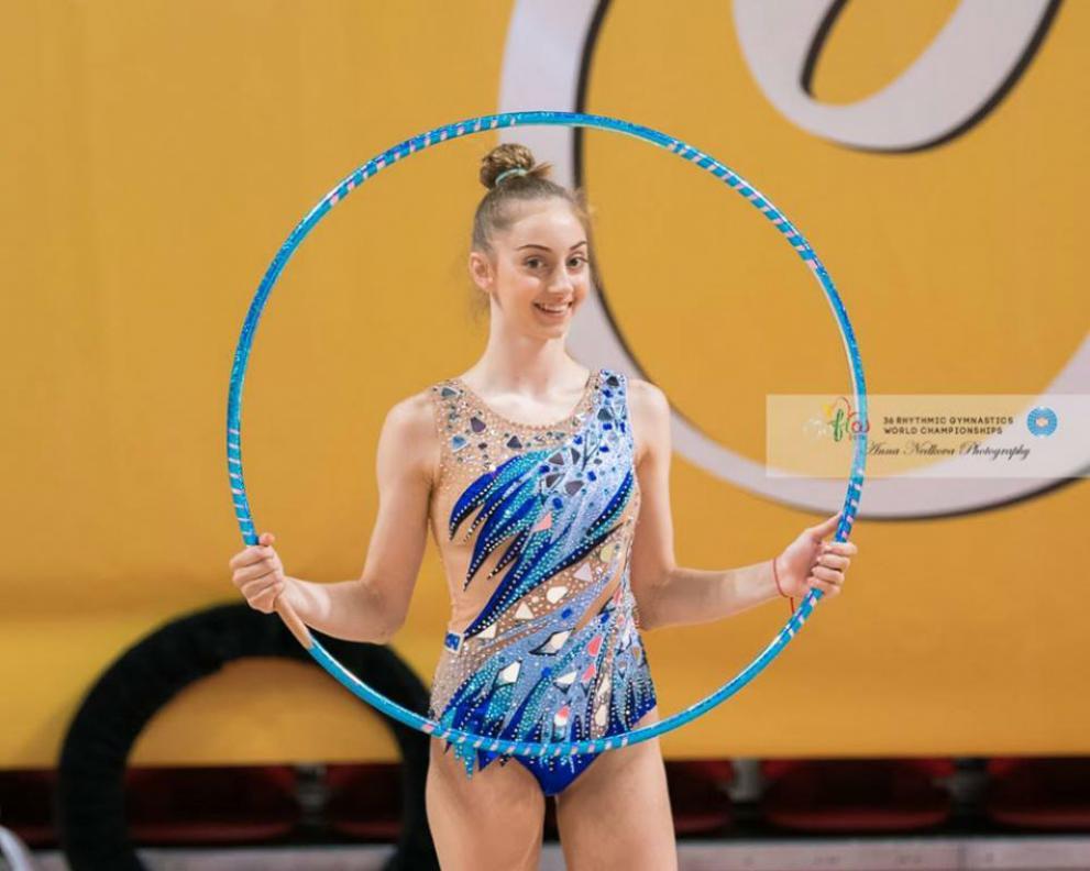България с първи медал от Световното по художествена гимнастика в София