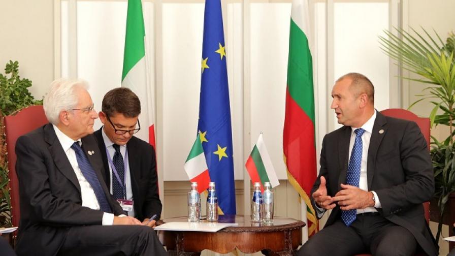 България и Италия: Нуждаем се отактивна подкрепа за миграцията