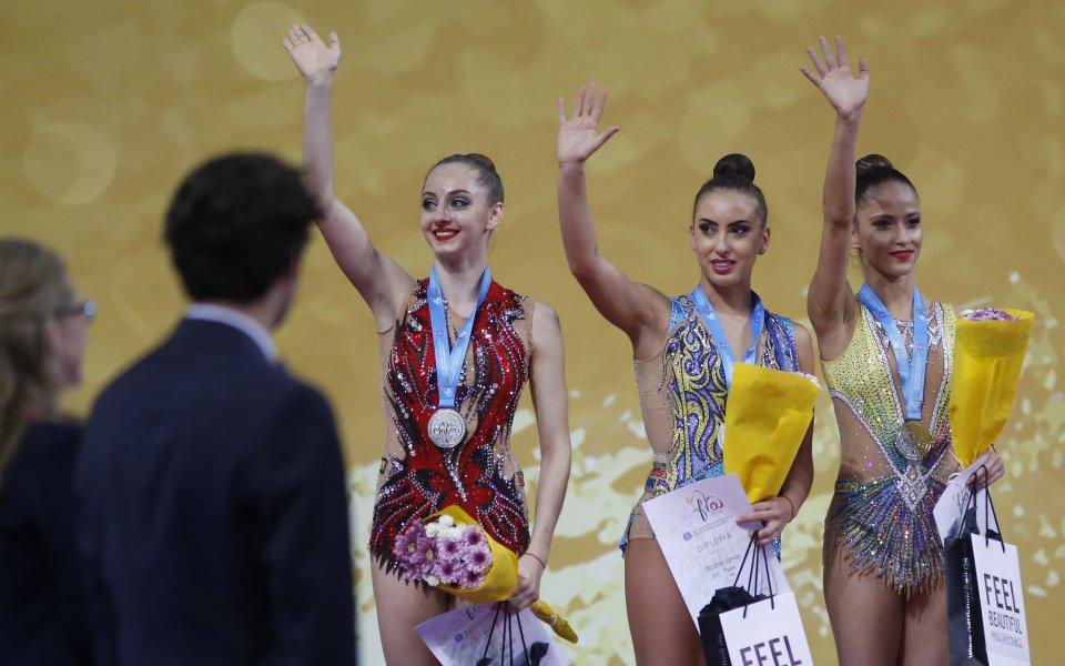 Грациите ни останаха без медал от многобоя в Холон, но се класираха за 7 финала