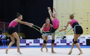 Гимнастичките без конкуренция за Събитие на седмицата