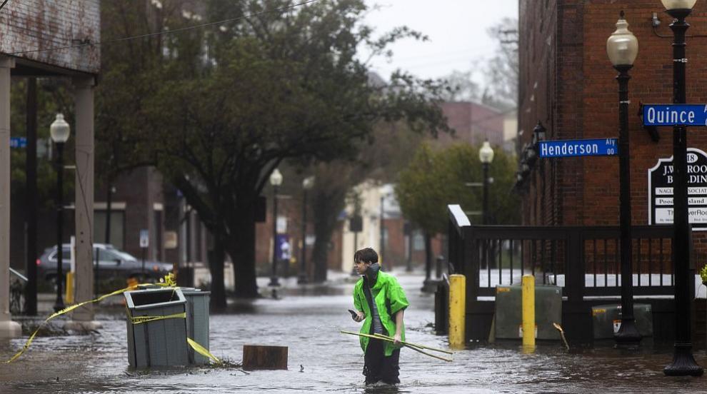 Ураганът Флорънс взе пет жертви в САЩ (СНИМКИ/ВИДЕО)