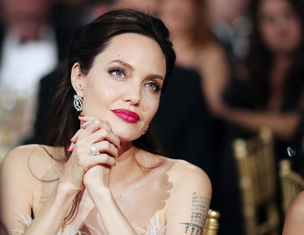 Представяме ви звездите, които са се венчали три пъти и повече. На снимката: Анджелина Джоли
