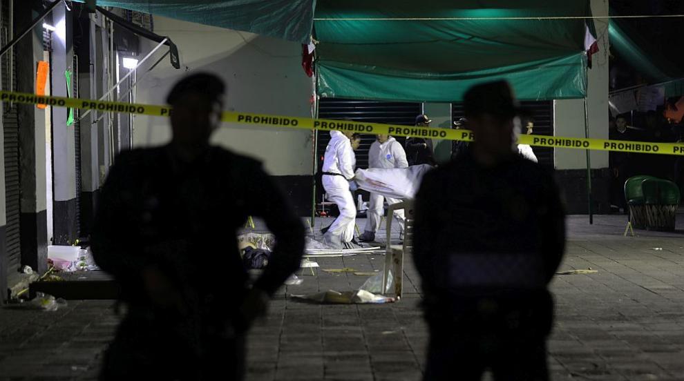 Стрелба отнела живота на петима души на площад в столицата на Мексико