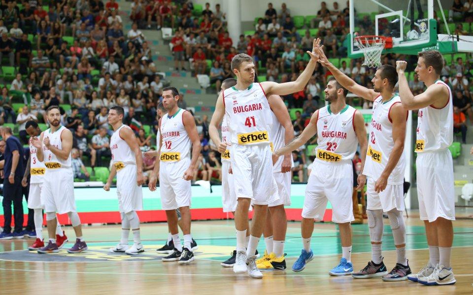 Баскетболистите се бориха, но отстъпиха на Русия