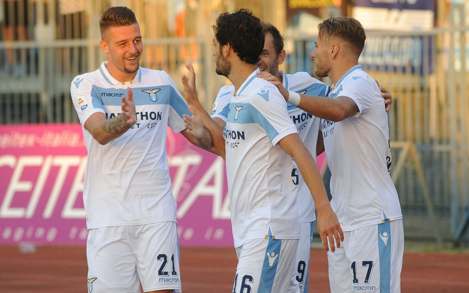 Лацио с втора поредна победа