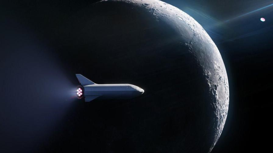 Новата версия на ракетата BFR на SpaceX