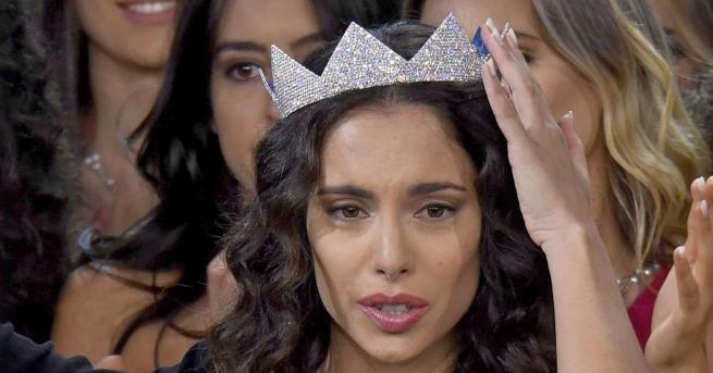 Карлота Маджорана е новата Мис Италия. 26годишната красавица победи в