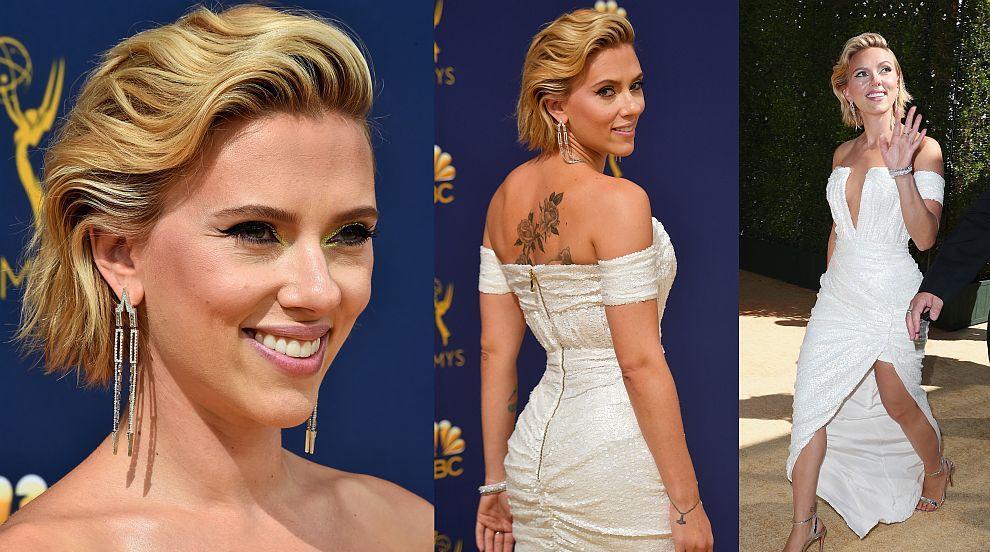 Какво облякоха звездните красавици на наградите Еми (СНИМКИ)
