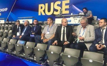 Президентът на CEV впечатлен от Русе