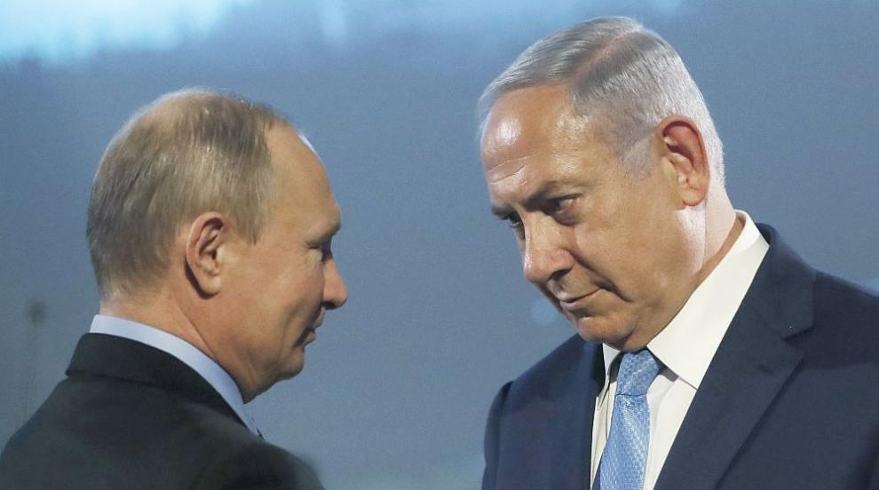 Напрежение между Русия и Израел заради сваления руски самолет, Путин и...