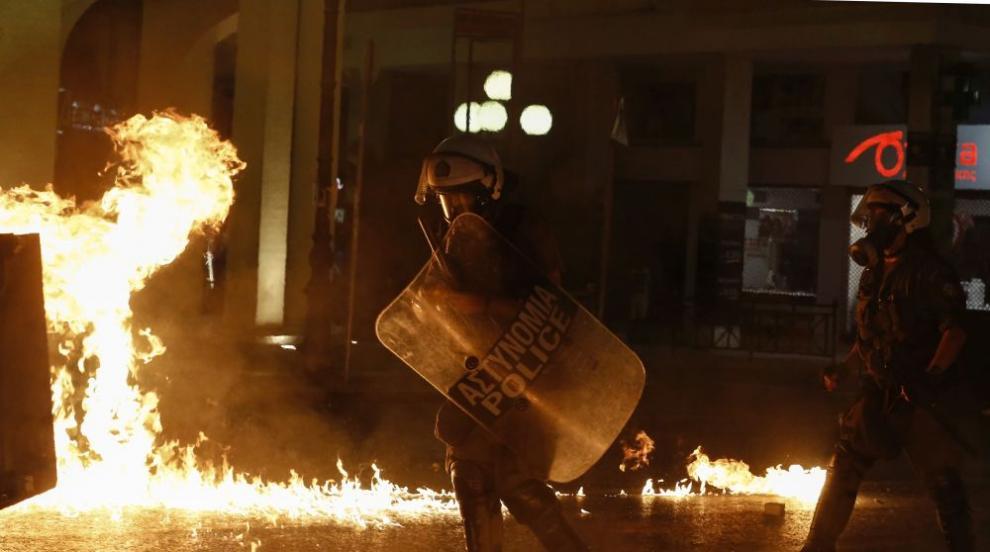 Годишнина от убийството на Павлос Фисас, сблъсъци в Гърция