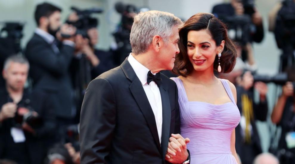 На кого приличат децата на Джордж и Амал Клуни? (СНИМКИ)