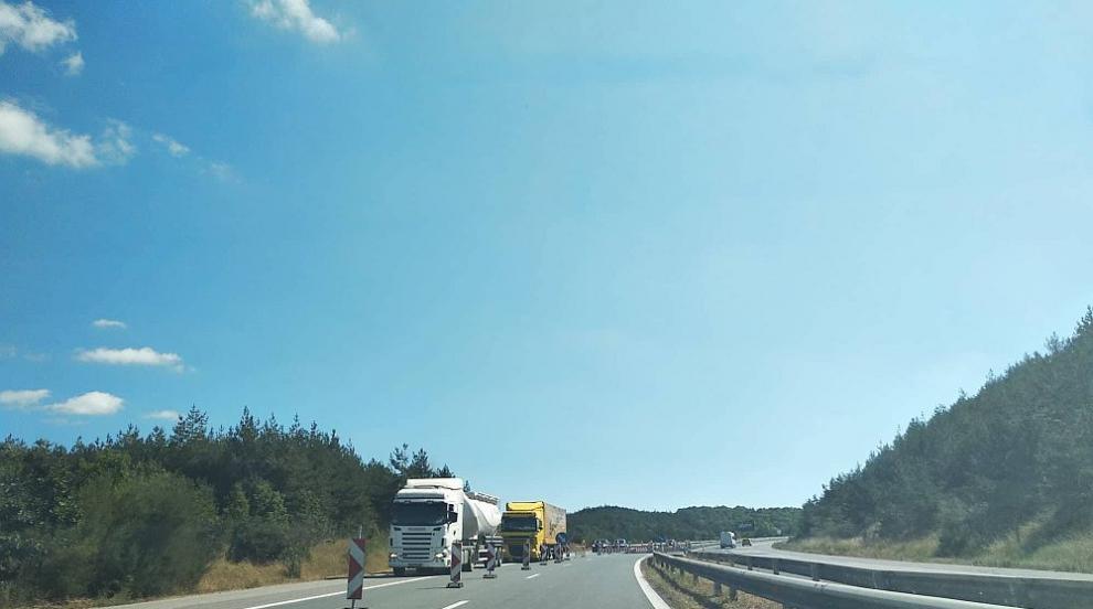 За шофьорите: От 25 март започва ремонт на три съоръжения на магистрала...