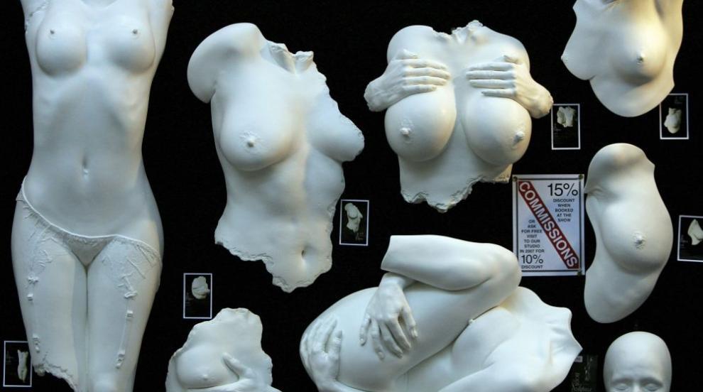 Скандални секс скулптури породиха полемика в Испания (СНИМКИ)