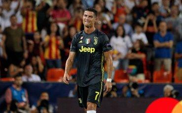 СНИМКИ: Емоциите на Роналдо след изгонването му