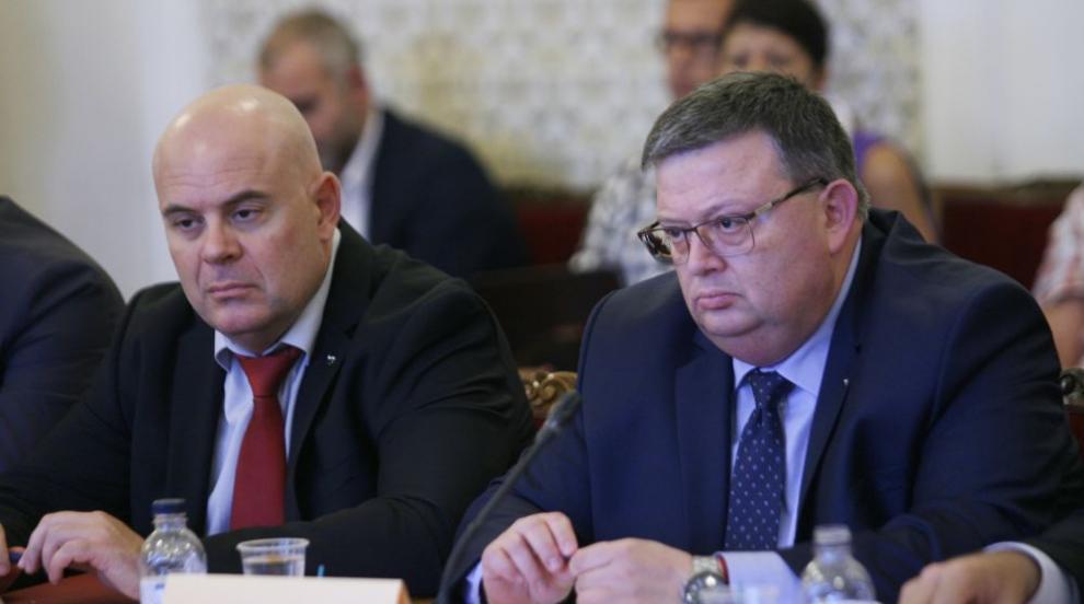 Цацаров и Гешев на посещение в САЩ, обменят опит с американските служби