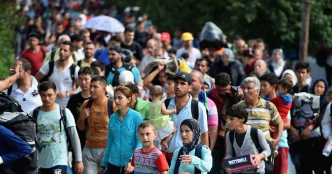 Броят на хората, които са били принудени да напуснат домовете